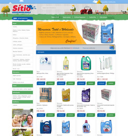 Sitio Wholesal e-commerce atacadista